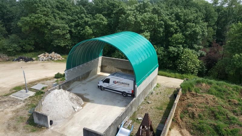 Tunnel en toile PVC