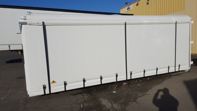 Container modifié avec sa toile PVC