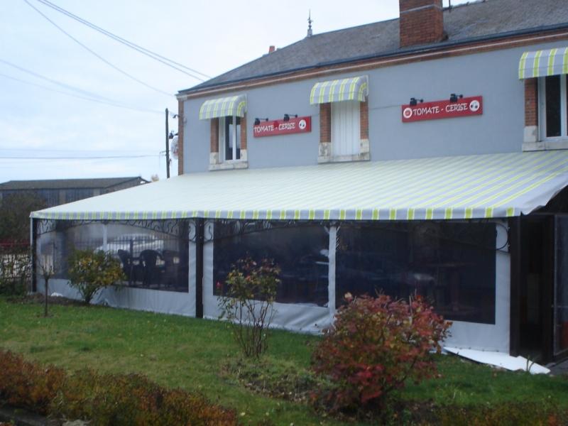 Toile pvc pour terrasse bache bourgoin - Bache pour terrasse ...