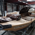 Bache PVC de protection pour bateau