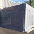 Bâche en toile PVC pour un abri de terrasse