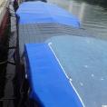 Abris de terrasse pour bateau en toile PVC