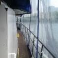 Mur de protection pour bateau en toile PVC