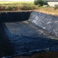 Bassin de rétention pour l'eau
