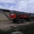 Bâche de benne agricole