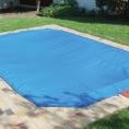 Bâche de protection pour piscine