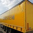 Rideau de camion en bâche PVC