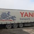 Rideau de camion en bâche PVC imprimé