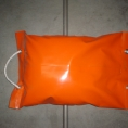 Sac de lestage orange en toile PVC
