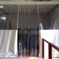 Mur de protection en toile PVC