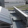 Bâche en toile PVC, pour la protection des panneaux solaires en cas d'incendie
