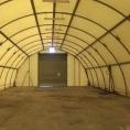 Bâche pour structure métalique / tunnel de stockage, vue intérieur