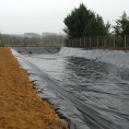 Bassin en toile PVC pour la récupération d'eau d'incendie
