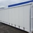Bâche de protection pour container modifié