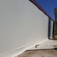 mur de séparation en bâche PVC