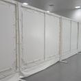 Mur de séparation amovible en toile PVC
