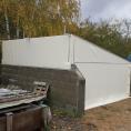 Toile pour la protection de bâtiment
