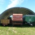 Tunnel de rangement de matériel