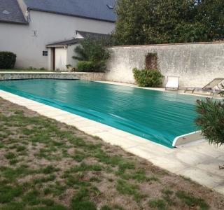 Bâche pour piscine